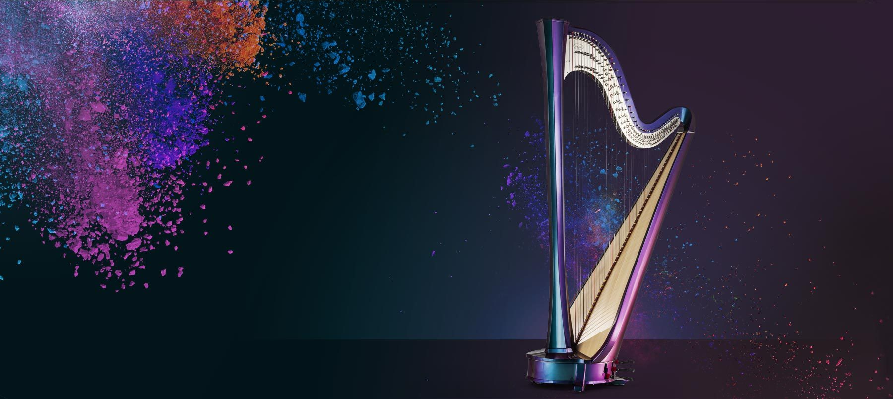Salvi Harps Collections - Discover the right harp for you